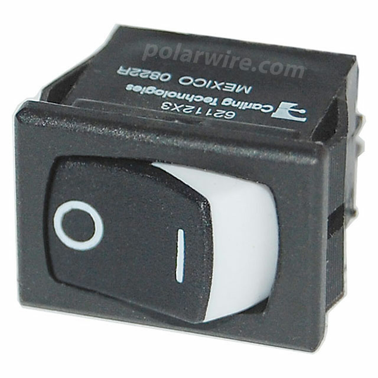 SM PANEL ROCKER SWITCHES DPST BLACK ON-OFF