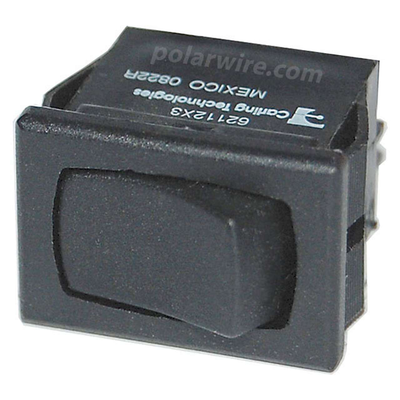 SM PANEL ROCKER SWITCHES DPDT BLACK ON-ON