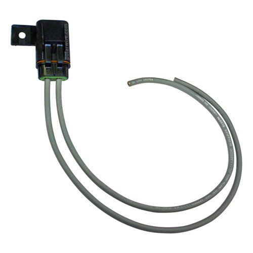 Weather resistant ATO/ATC Fuse Holder with cap made with ARCTIC ULTRAFLEX BLUE fine strand 100% copper arctic grade wire for superior flexibility