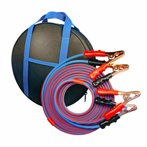 20' Cold Weather Jumper Cables 4 gauge battery booster clamps