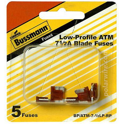 FUSE 7-1/2 AMP LOW PROFIL ATM MINI-BLADE FUSE 5 PK