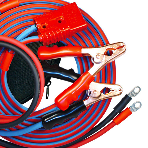 The very best jumper cables available anywhere! 16 foot 4 gauge with 4 foot harness