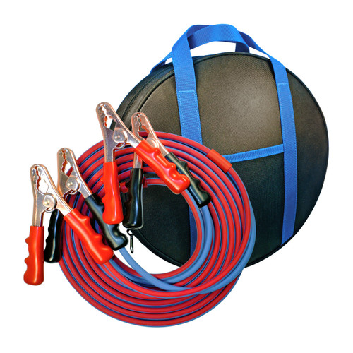 16' Cold Weather Heavy Duty Jumper Cable 4 Gauge Booster