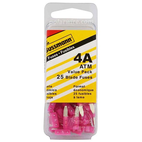 ATM BLADE FUSE 40AMP 25PC  VALUE PACK
