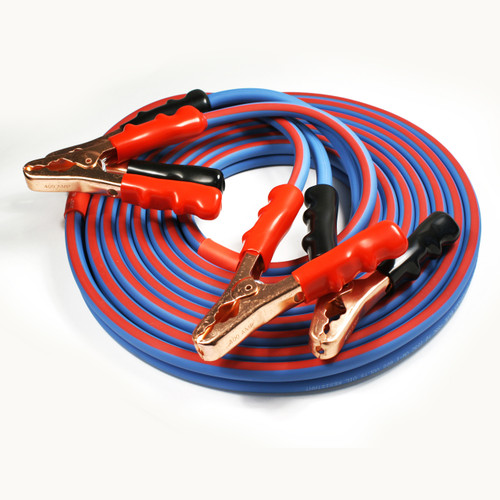 Polar Wire makes the best jumper cables available! Made in America with top quality components and cold weather reliable, super flexible 100% copper wire.