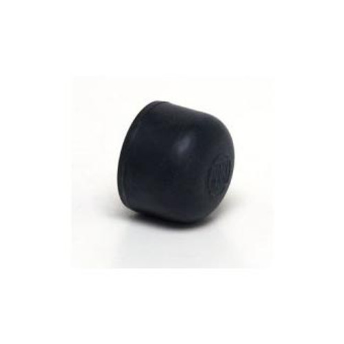 MOMENTARY SWITCH CAP BLACK RUBBER