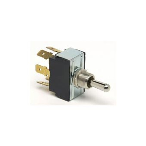 TOGGLE SWIT ON-OFF-ON 6B DPDT H/D 25AMP 6 B/TERM