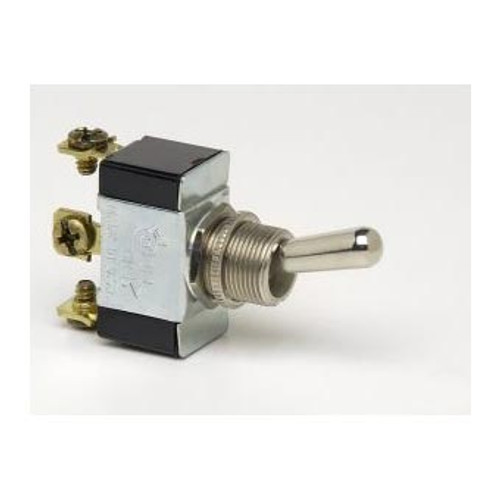 TOGGLE SWIT ON-OFF(ON) 3S SPDT 3 SCREW TERMINALS