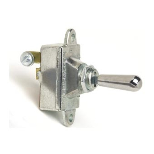 TOGGLE SWIT HD (ON)OFF 2S SPST 30AMP METAL/MOM.2SCW