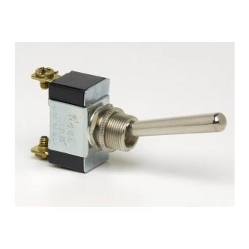 TOGGLE SWIT ON-OFF 2S L/H SPST 2 SCREW LONG HANDLE