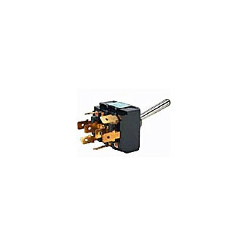 TOGGLE SWIT HDLAMP 4C 8BL 4POLE 4CIRCUIT 25AMP L/H