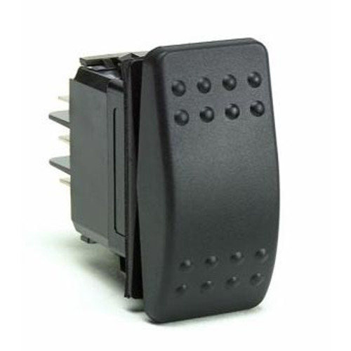ROCKER SWITCH OFF(ON) W/B SPST 2BLD TERM 20A W/BOOT