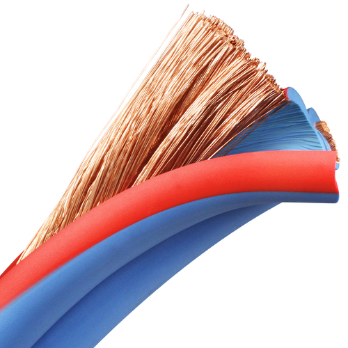 1/0 AWG Arctic Superflex Blue Class K fine stranded copper conductors provide outstanding flexibility and conductivity