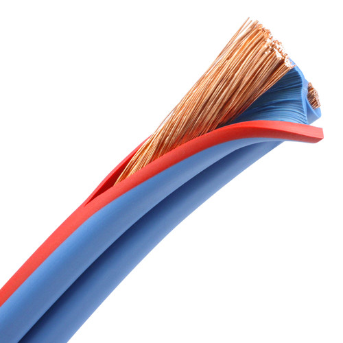 6 AWG Arctic Superflex Blue duplex wire has Class K fine stranded conductors for best conductivity and flexibility