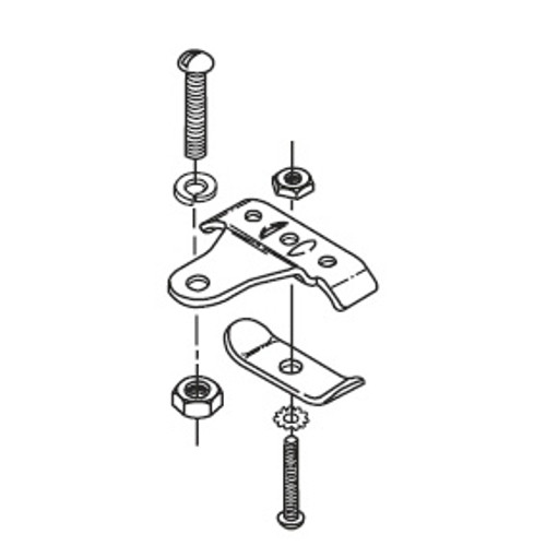 175AMP CABLE CLAMP SINGLE