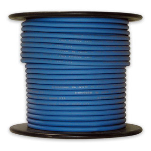 Arctic Ultraflex Cold Weather Flexible Wire 100 Foot Spool 12 AWG Blue Single Conductor Wire tinned fine strand 100% copper