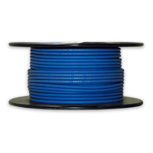 Arctic Ultraflex Cold Weather Flexible Wire 100 Foot Spool 14 AWG Blue