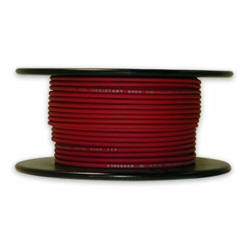 Arctic Ultraflex Cold Weather Flexible Wire 100 Foot Spool 14 AWG Red