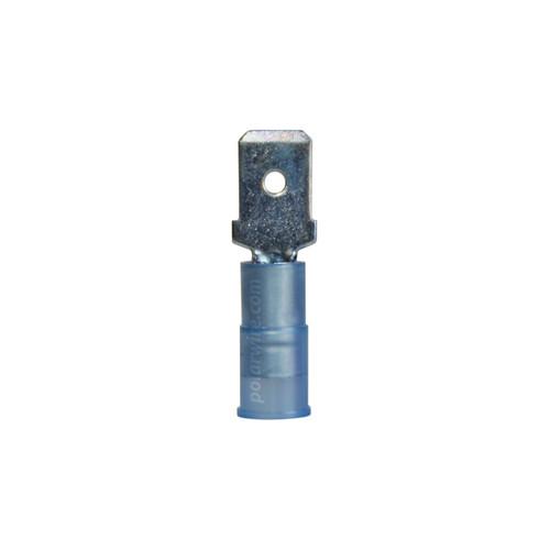 NYLON SLIDE-M 16-14GA.250  MALE 25 PACK MOLEX