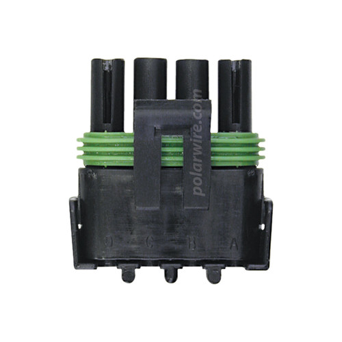 WEATHER PACK 4 PIN FEMALE  TOWER HOUSING