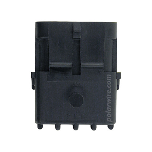 WEATHER PACK 4 PIN MALE SHROUD HOUSING