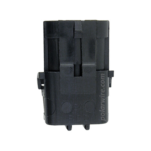 WEATHER PACK 3 PIN MALE SHROUD HOUSING