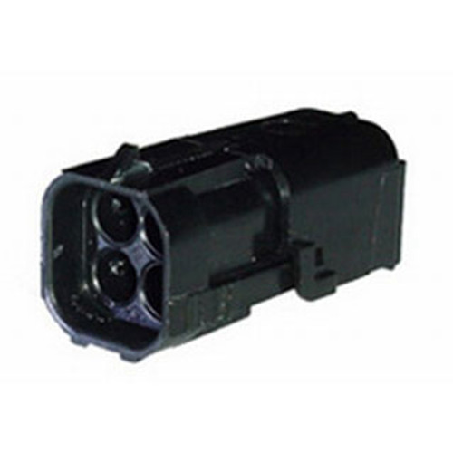WEATHER PACK 4 PIN MALE SQUARE SHROUD HOUSING