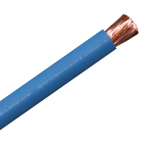 ARCTIC ULTRAFLEX 4/0 BLUE PER FOOT