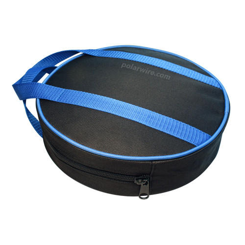 Our jumper cable bag is made of durable nylon canvas, and features nylon webbing handles and a wide zippered opening