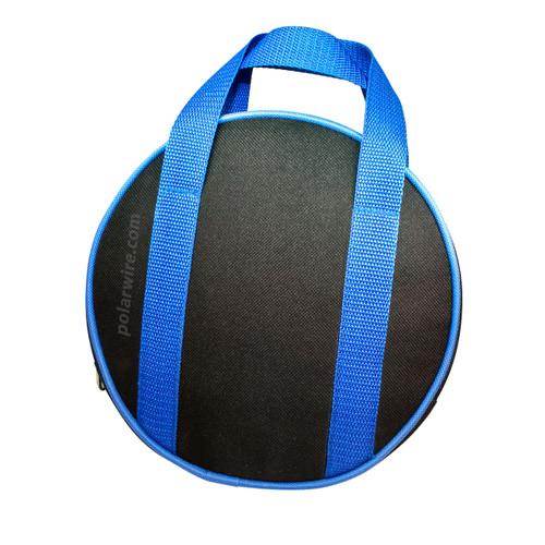 Small nylon canvas jumper cable bag fits our 8 gauge ATV/UTV jumper cables