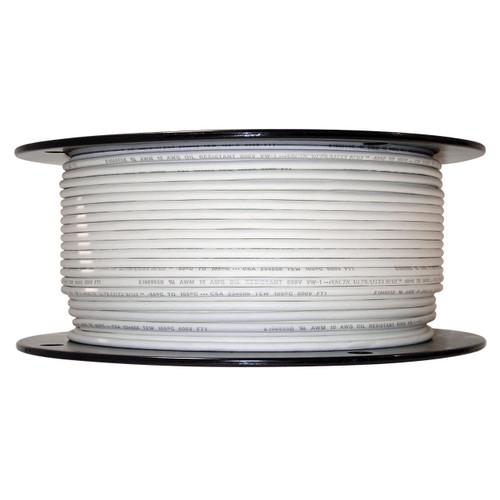500 foot spool White 10 AWG Arctic Ultraflex Blue Single Conductor Wire 100% copper tinned fine strand, 600v applications