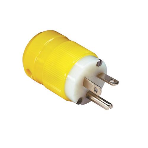 20A 125V Corrosion Resistant Locking Blade Male Shore Power Plug