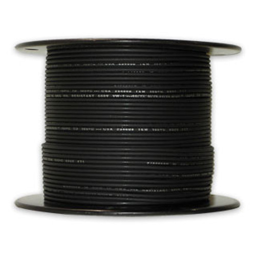 Arctic Ultraflex Cold Weather Flexible Wire 500 Foot Spool 16 AWG Black