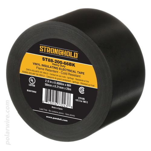 Panduit ST88-075-66BK Heavy Duty Electrical Tape