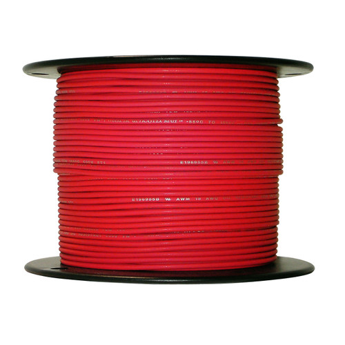 ARCTIC ULTRAFLEX 18GA RED  500 FOOT ROLL