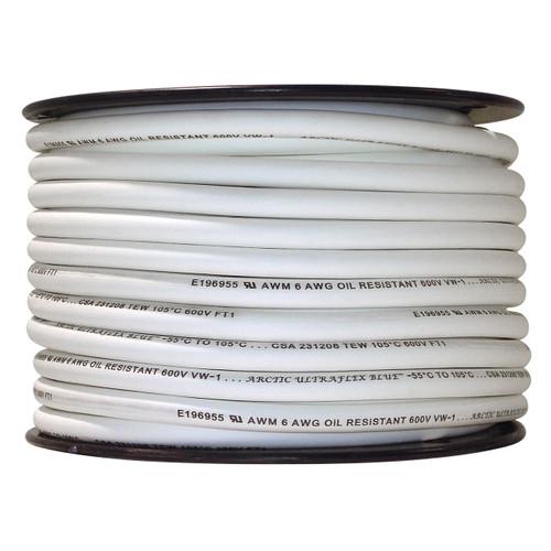 ARCTIC ULTRAFLEX 6GA WHITE 100 FOOT ROLL