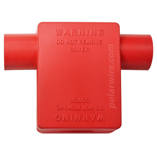 FLAG 3/0-4/0 RED BATTERY BOOT