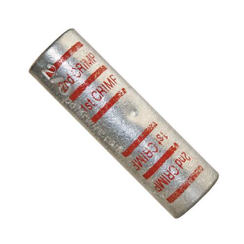 POWER SPLICE 2/0 RED  PLATED COPPER HEAVY DUTY