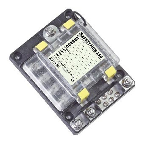 SAFETY HUB 150 FUSE BLOCK (4)30-200AMI/MIDI (6)ATC