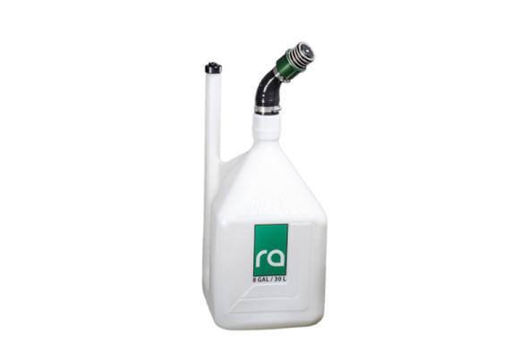 Radium Engineering Quick Fill Dump Can - 8Gal 1.5in Dry Break Filler