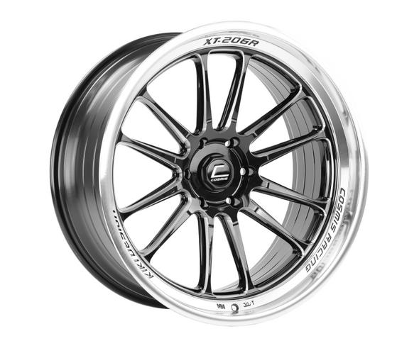 Cosmis Racing XT-206R Black w/ Machined Lip + Spokes Wheel 22x10 +0mm 6×139.7