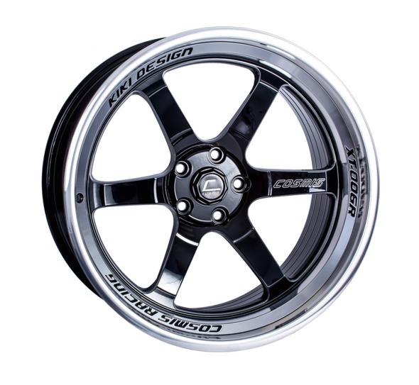 Cosmis Racing XT-006R Black w/ Machined Lip Wheel 20x9.5 +10mm 5x120