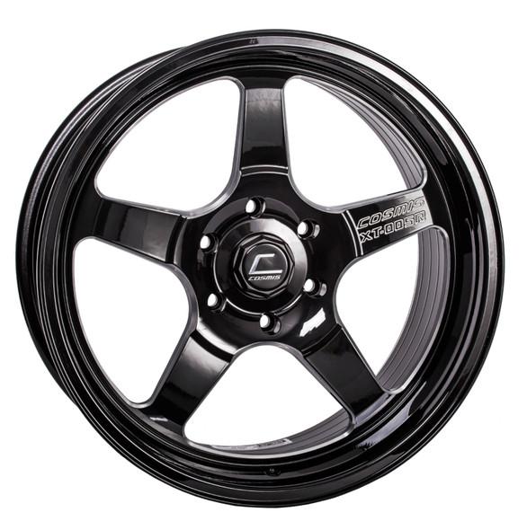 Cosmis Racing XT-005R Black w/ Machined Spoke Wheel 20x9.5 +15mm 6x139