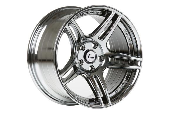 Cosmis Racing S5R Wheel Black Chrome 17x9 +22mm 5x114.3