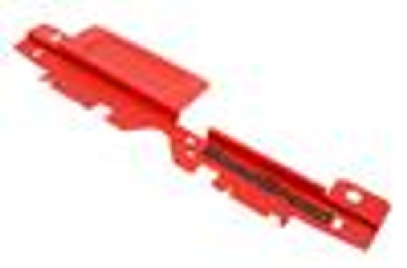 GrimmSpeed 05-09 Subaru Legacy/Outback Radiator Shroud w/Tool Tray - Textured Red