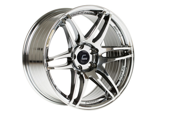 Cosmis Racing MRII Black Chrome Wheel 18x8.5 +22mm 5x114.3