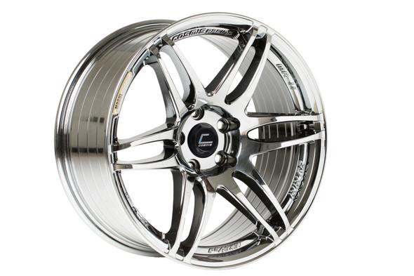 Cosmis Racing MRII Black Chrome Wheel 18x9.5 +15mm 5x114.3