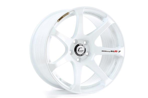 Cosmis Racing MR7 White Wheel 18x10 +25mm 5x114.3