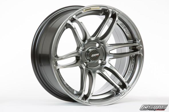 Cosmis Racing MRII Hyper Black Wheel 15x8 +30mm 4x100