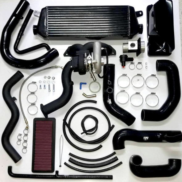 AVO 2016 Mazda Miata ND MX5 Base Turbo Kit w/ OEM Style BOV and Panel Filter